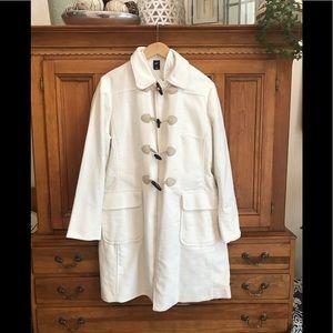 ❤️ Gorgeous Gap Winter white Wool Coat XL ❤️